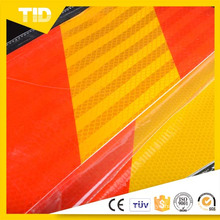 Colored Micro Prismatic Retro Reflective Sheeting, Flexible Reflective Film (engineering grade) , Reflective Vinyl Sign Making Stick