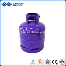 Válvula de alta pressão Oxyge Alumínio Cilindro de gás de baixo preço de segurança