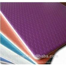 Alunewall best price Embossed Aluminium Composite Panel acp sheets price list