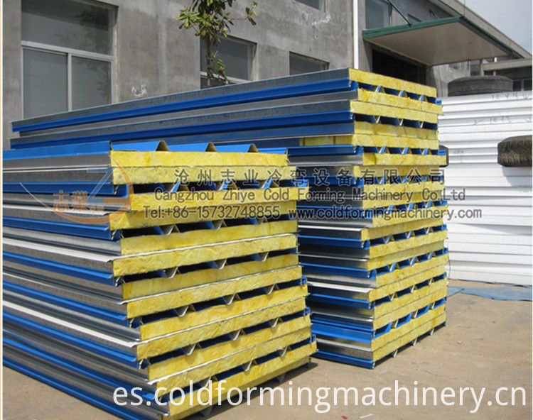 Eps Sandwich Sheets Roll Forming Machinery Supplie