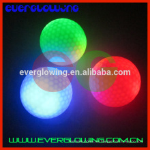 brillantes bolas de golf flash led