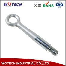 Pieza de forja galvanizada de aluminio / acero al carbono / acero aleado