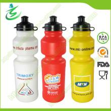 Botella de 750 ml de botella de plástico / botella de plástico para viajar