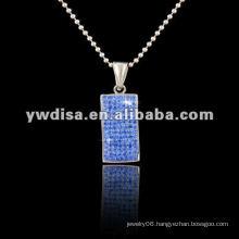 Crystal Pendant,Jewelry Pendant,Stainless Steel Pendant