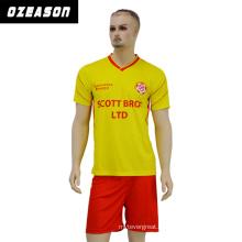 Custom Designs Short Sleeve Soccer Uniform Shirt