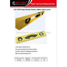 Plastic I-BEAM spirit level, measure tool
