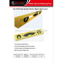 Plástico I-BEAM nível de espuma, ferramenta de medição
