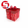 Cardboard Holiday Christmas gift boxes with lids