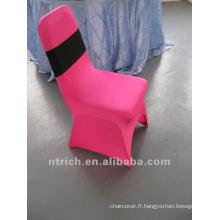 couverture de chaise de spandex fuchsia, CTS750, adapté pour toutes les chaises. La présidence de la couverture de l'usine.