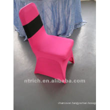 fuchsia spandex chair cover,CTS750,fit for all the chairs.Chair cover Factory.