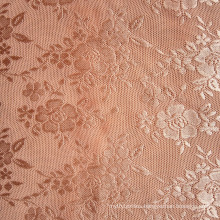 RASCHEL machine warp knit nylon elastane mesh jacquard fabric wholesale for lady tights and bra