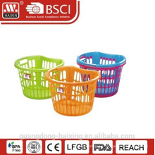 Hot sale plastic laundry basket(38L)
