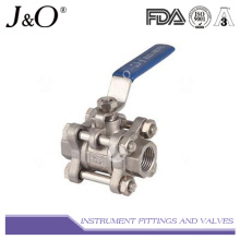 High Quantity Stainless Steel 3PC Ball Valve