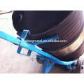 óleo aço tambor carrinho de distribuição