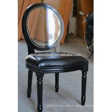 Schwarze louis Hochzeit Stühle Verkauf XY0101