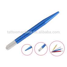 Colorful Permanent Professional Makeup Tools Tattoo Eyebrow Pen 12.0 cm
