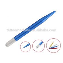 Coloridas ferramentas de maquiagem profissional permanente Tattoo Eyebrow Pen 12.0 cm