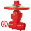 UL 200psi-Nrs Type Grooved End Gate Valve