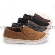 Damenschuhe Freizeit PU Schuhe mit Rope Outsole Snc-55004