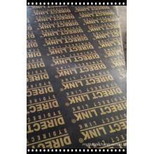 18mm Pappel-Kern-Film ausgesetzt Sperrholz schwarzer Film WBP-Kleber erster Grad