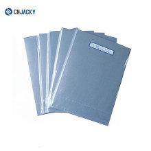 Folha de PVC com impressão a jato de tinta Light / Dark Sliver para laminação de cartão inteligente