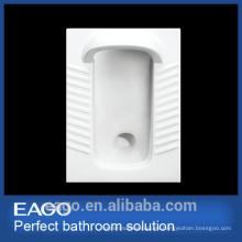 EAGO bandeja de cerámica de alta calidad forma Bandeja de sentadillas sin codo DB3090