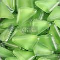 Fichas de mosaico verde hierba para mosaico de jardín