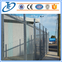 Eco-friendly Hot-trempado galvanizado 358 High Security Fence