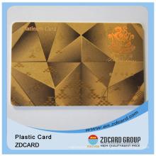 Tarjeta VIP de la tarjeta del VIP del hotel / del código de barras