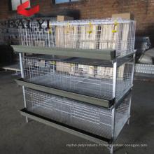 Cage automatique de grillage de cage de fil de grillage de système d'abreuvoir / gril à vendre au Kenya
