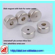 Disk superstarken Magneten für Zähler