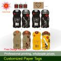 design paper hang tags