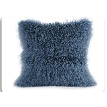Home Decorative Mongolian Faux Fur Pillow Cushion