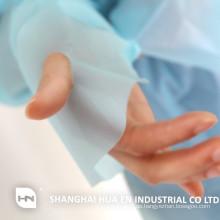 Einmaliger chirurgischer Plastik-Daumenhaken undurchlässiges Cpe-Kleid