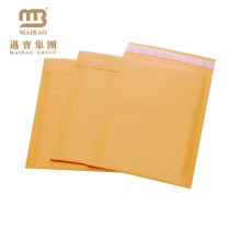 custom color kraft paper bubble mailing bags