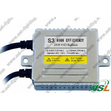 Hocheffiziente digitale Wide V S3 35W 9-32V Slim HID Xenon Kitballasten
