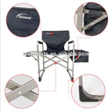 cadeira de dobramento plástica Cadeira de praia de reclinação ajustável