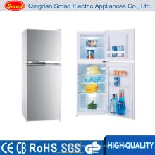 KD-108F Manuelles Auftauen Mini-Doppeltür Kühlschrank mit Gefrierfach
