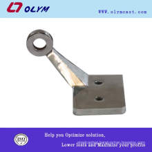 OEM china custom manufacture 1.4136 steel door stopper parts Investment casting