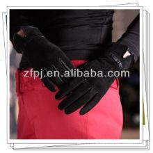 Importador de luva de couro profissional, luvas de couro de moda