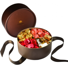 Kundenspezifisches Geschenk-Schokoladen-Verpacken in der runden Form