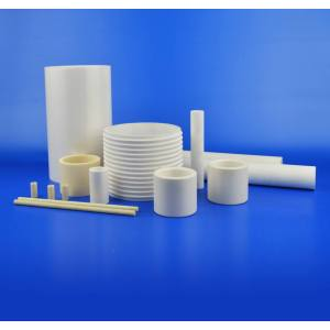 Customized Alumina Ceramic Tube with Thin Wall Thickness