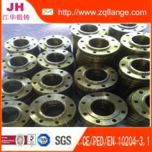 Lj Flange forjada 150lb ASTM A105 Flanges de juntas de giro com extremidade de topo