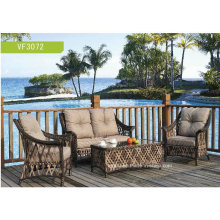 Patio Garden Outdoor Wicker Rattan Sofa