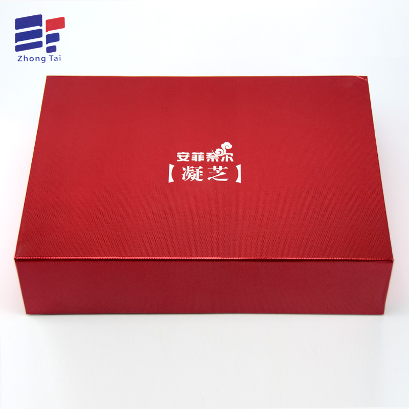 Customized magnetic closure box for  tea
