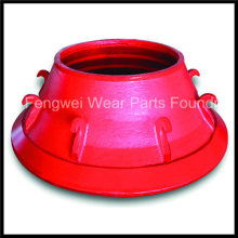 Metso Cone Crusher Wear Parts Concave with Competitive Price