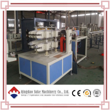Plastic PVC Double Pipe Extrusion Line / PVC Machine