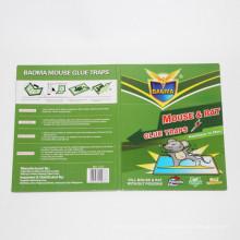 2015 nuevo producto Green Leaf fuertemente adhesivo ratón y trampas para cola de rata