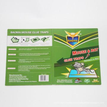 2015 Новый продукт Green Leaf Сильно клейкие ловушки для мыши и крысиного клея