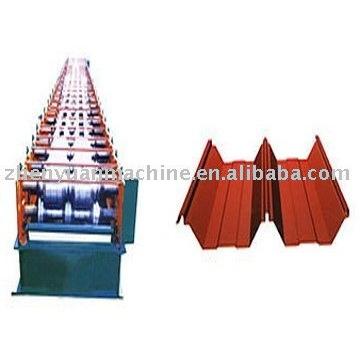 Joint-ocultos máquina de hoja de techos de rodadura, máquina de cubierta de techo, hoja de rollo anterior $ 6000-30000 / set